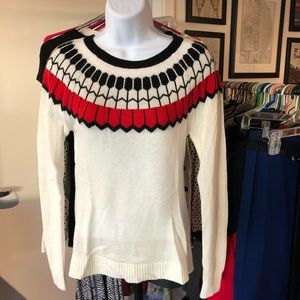 The Limited // Fair Isle Sweater